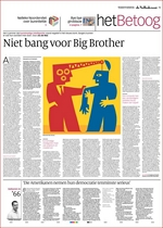 Niet bang voor Big Brother